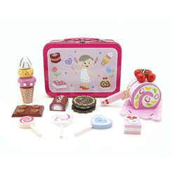 Kaper Kidz Wooden Sweet Set in Tin Carry Case