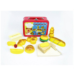 Kaper Kidz Wooden Bakery Set in Tin Carry Case