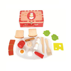 Kaper Kidz Wooden Breakfast Set in Tin Case