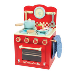 Le Toy Van Honeybake Red Oven and Hob Set