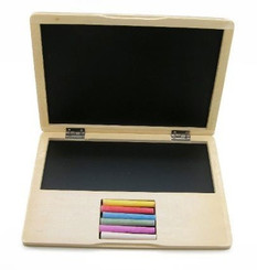 Kaper Kidz Wooden Notebook/Laptop Blackboard