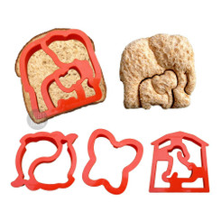 Lunch Punch Sandwich Cutters - Critter Cutters™ Set