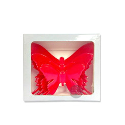 'lil Red Fairy Critters 3D Butterfly Wall Stickers