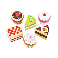 Fun Factory Wooden Cupcakes & Cake Slices