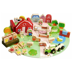 EverEarth Organic Farm Playset 53pcs