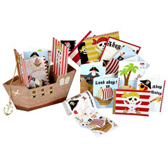 Meri Meri Pirate Ship Stationery Boxed Set