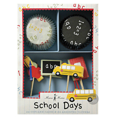 Meri Meri School Days Cupcake Kit