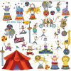 RoomMates Big Top Circus Wall Stickers