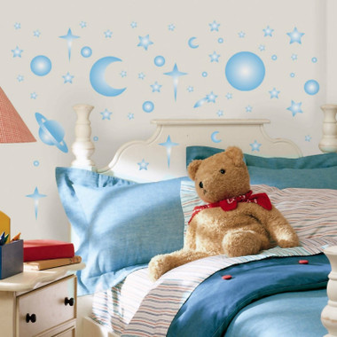RoomMates Celestial Glow Wall Stickers