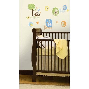 RoomMates Modern Baby Wall Stickers