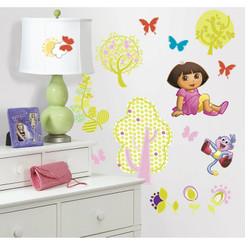 RoomMates Dora the Explorer Wall Stickers