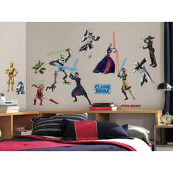 RoomMates Star Wars™ The Clone Wars Glow in the Dark Wall Stickers