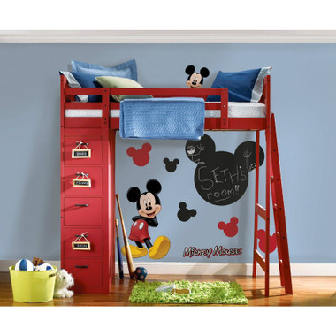 RoomMates Mickey Mouse Chalkboard Wall Decals