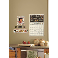 RoomMates Family and Friends Dry Erase Calendar Wall Stickers