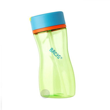 Apple Mint - BROS 450ml Pure Series Water Bottle With Straw