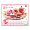 Djeco Lili Rose Tea Party Tea Set packaging