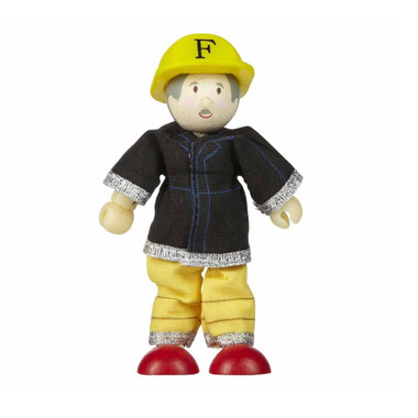 Le Toy Van Budkins Yellow Firefighter Harry