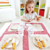Hape Lunch Time Set  with girl