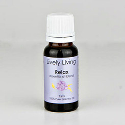 Lively Living Pure Blend Essential Oil – Relax