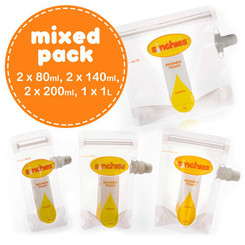 Sinchies Reusable Food Pouches Mixed Bag