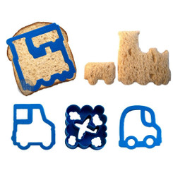 Lunch Punch Sandwich Cutters - VRRRM!™