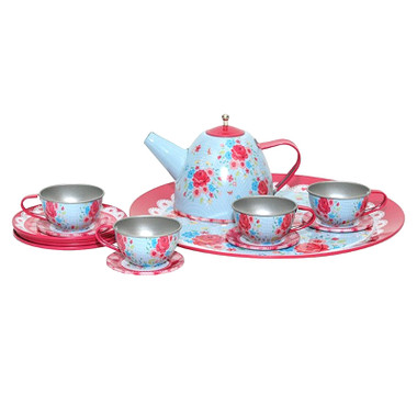 Tiger Tribe Vintage Round Tea Set - English Rose