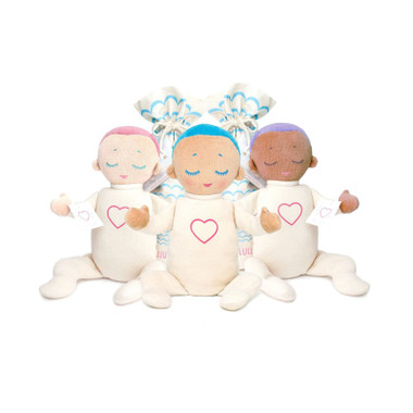 Lulla Dolls - Coral, Lilac and Sky
