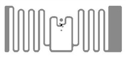 Alien HiScan RFID White Wet Inlay (ALN-9720, Higgs-4) | ALN-9720-WRW