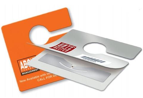 Custom Rearview Mirror RFID Hang Tag | XRFIDRV1378