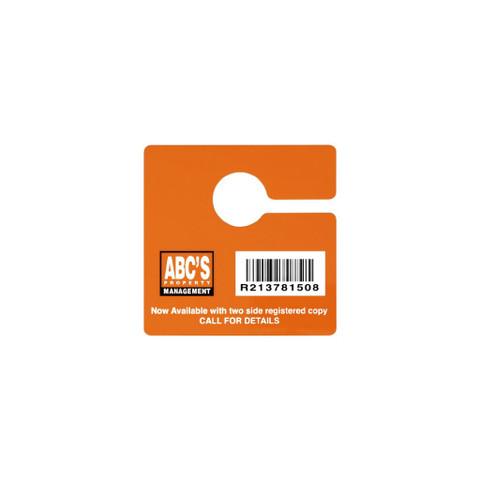 Vulcan RFID Custom Rearview Mirror Hang Tag | VR-RMHT-S / VR-RMHT-L