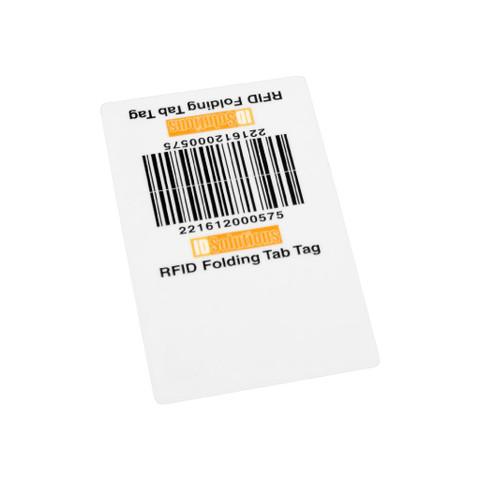 Vulcan RFID Custom Folded Tab Tag | VR-FTT-S / VR-FTT-L