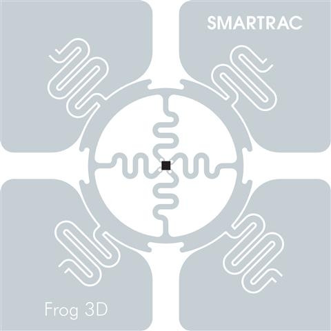 SMARTRAC Frog 3D RFID Wet Inlay 53mm (Monza 4D) | 3002015