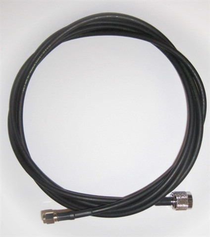 Times-7 6 ft. Antenna Cable (LMR-195, RP-TNC Male to SMA Male) | 71436
