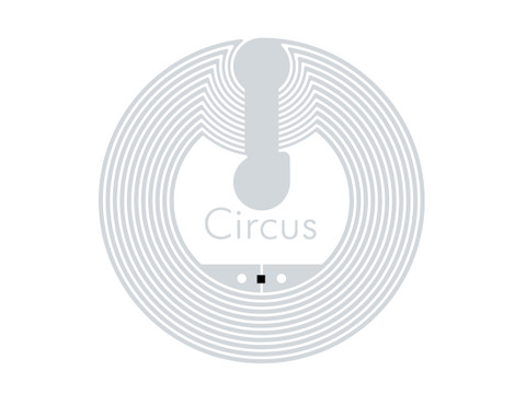 SMARTRAC Circus NFC White Wet Inlay (NXP NTAG213) | 3002991_5000