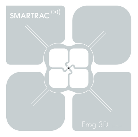SMARTRAC Frog Paper Face RFID Tag 76mm (Monza 4D) | 3002348