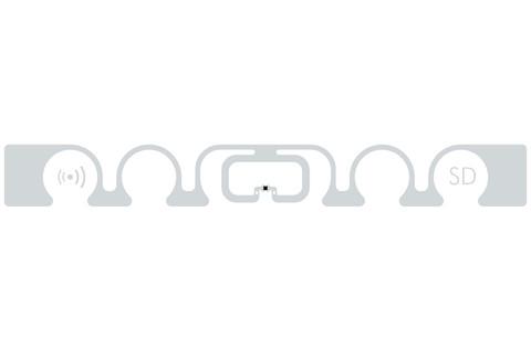 SMARTRAC ShortDipole RFID Paper Tag (Monza R6) | 3004273
