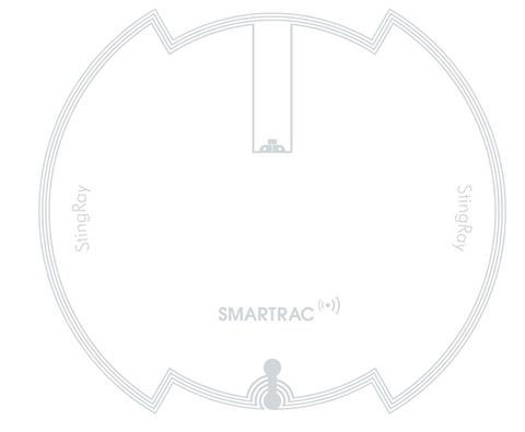 SMARTRAC StingRay HF RFID Wet Inlay (NXP ICode SLIX) | 3002067