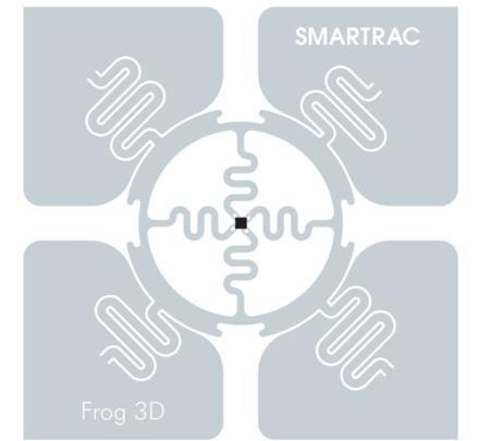 SMARTRAC Frog 3D Dry Inlay (Monza 4D) | 3002014