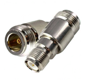 Coaxial Adapter, RP-TNC Female to N Female | RFA-N/F-RPTNC/F-STD