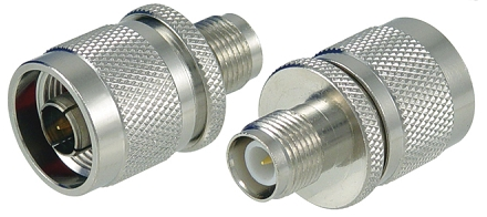 Coaxial Adapter, RP-TNC Female to N Male | AXA-NMRTJ