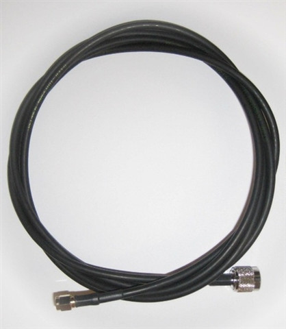 Times-7 12 ft Antenna Cable (240 Series, RP-TNC Male to SMA Male) | 71784