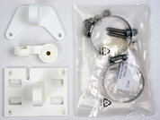 "Laird Mounting Bracket for 5""x 5"" RFID Mini-Antennas (White) [B-Stock] 