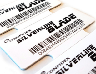 Confidex Silverline Blade RFID Tag Pack | 10028598