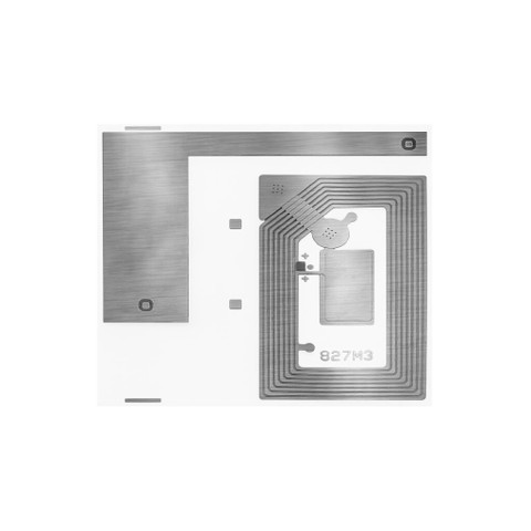 SMARTRAC H142 TiPls HF RFID Dry Inlay (22.5x38) - 5,000 Inlays | 3005364_5000