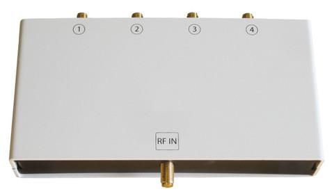 Keonn AdvanSplitter-4 UHF RFID Power Splitter - with Enclosure (4-Ports)   ADSP-4-eSMA-110