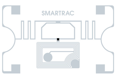 SMARTRAC Web Dual Frequency RFID Wet Inlay (EM4423)| 3005952