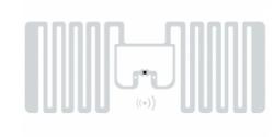 SMARTRAC MiniWeb RFID Wet Inlay (Monza R6)   3004858
