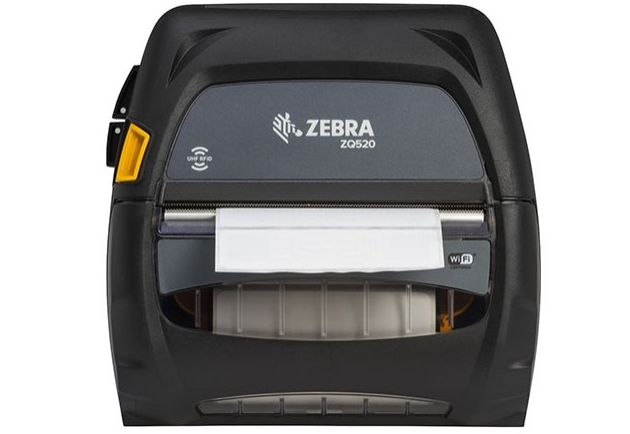 zebra zq520 uhf rfid direct thermal mobile printer 203 dpi 4 inch