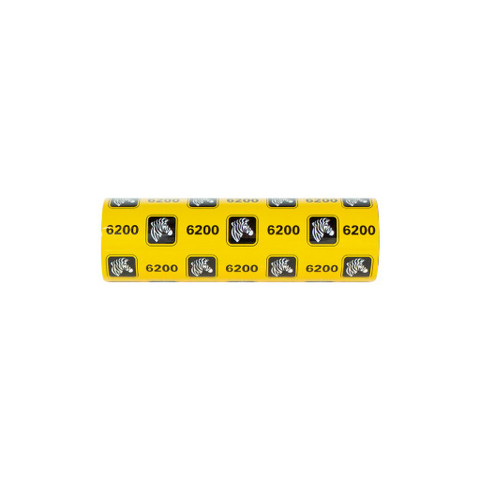 Zebra 6200 Standard Desktop Resin Ribbon (Case of 48) | 06200GS11007