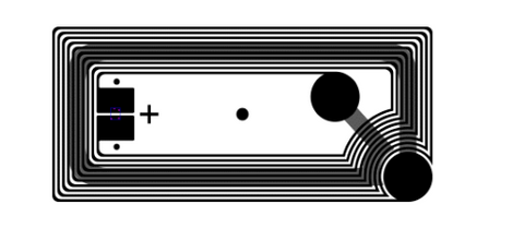Avery Dennison AD-730x HF RFID Dry Inlay (NXP ICODE SLIX) | RF700047